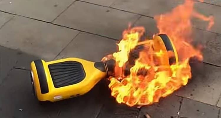 CPSC Recalling 500,000 Hoverboards Due to Fire Danger
