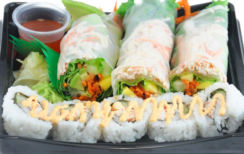 Ready-to-Eat Sushi Salads and Spring Rolls Recalled for Listeria Contamination