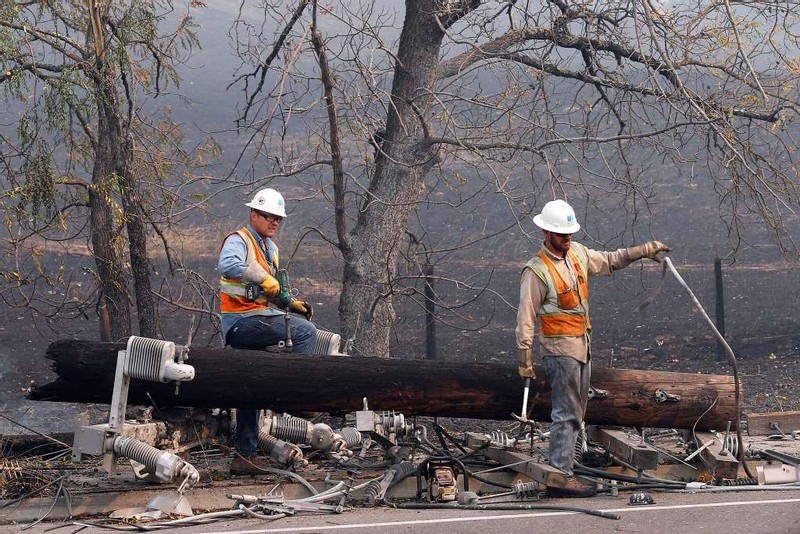 Did Failed Power Lines Cause Deadly Northern California Wildfires?