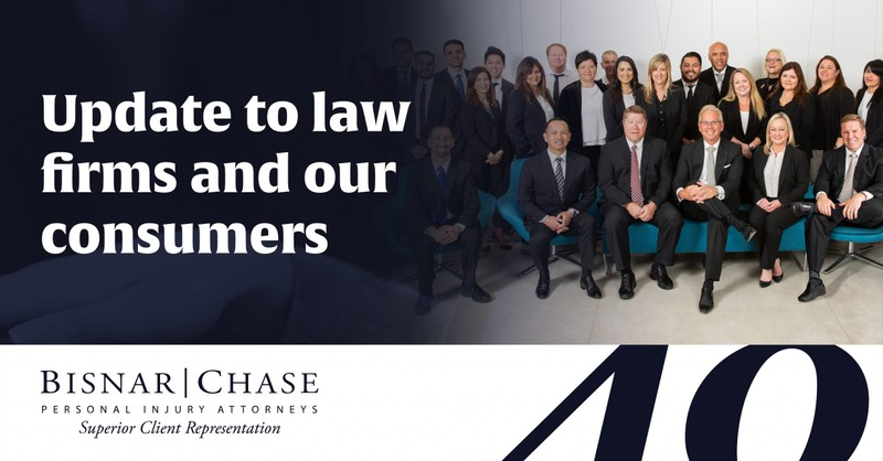 Update for Our Clients, Consumers and Other Attorneys on Bisnar | Chase During the COVID-19 Crisis