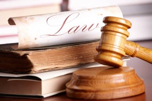 gavel in a personal injury law case